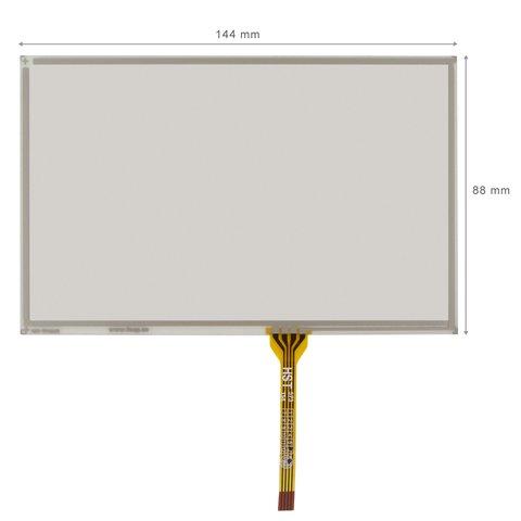 """Cristal táctil flexible anti destellos de 5.8"""""""