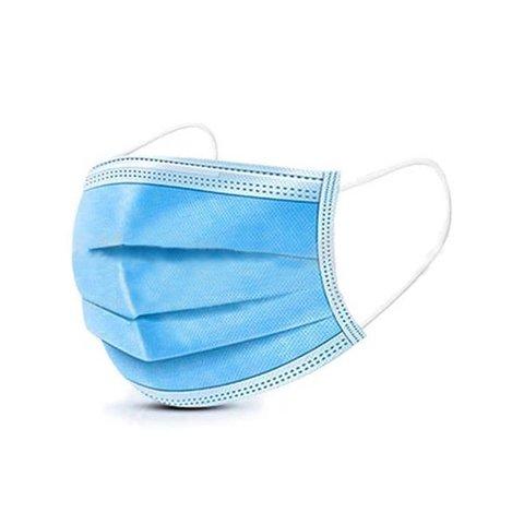 Одноразовая медицинская хирургическая маска для лица упаковка 10 шт.