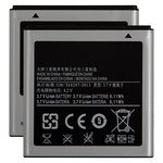 Battery EB575152LU compatible with Samsung I9000 Galaxy S, (Li-ion, 3.7 V, 1650 mAh)