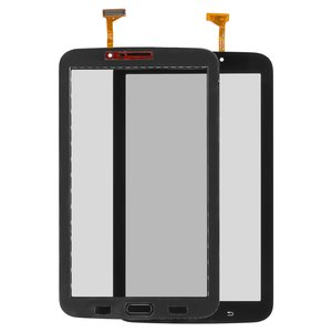 Touchscreen for Samsung P3200 Galaxy Tab3, P3210 Galaxy Tab 3, T210, T2100 Galaxy Tab 3, T2110 Galaxy Tab 3 Tablets, (black, (version Wi-fi))