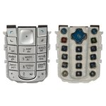 Keyboard Nokia 6230, (silver, russian)