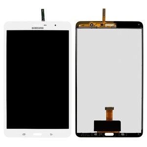 LCD for Samsung T321 Galaxy Tab Pro 8.4 3G, T325 Galaxy Tab Pro 8.4 LTE Tablets, (version 3G , white, with touchscreen)