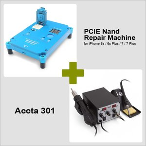 PCIE Nand Repair Machine for iPhone 6s / 6s Plus / 7 / 7 Plus + Accta 301 (220V)