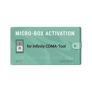Micro-Box Activation for Infinity CDMA-Tool