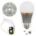 Juego de piezas para armar lámpara LED regulable SQ-Q23 5730 7 W (luz blanca cálida, E27)