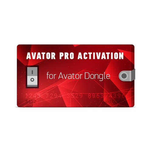 Activación Avator Pro para Avator Dongle