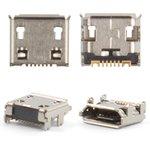 Коннектор зарядки для Samsung C3322, 7 pin, micro-USB тип-B