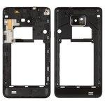 Средняя часть корпуса Samsung I9100 Galaxy S2, черная