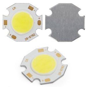 COB LED модуль 7 Вт (холодный белый, 650 лм, 20 мм, 300 мА, 21-23 В)