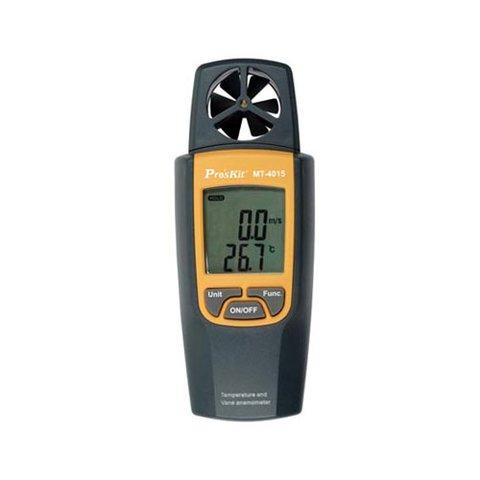 Термометр та крильчатий анемометр 2 в 1 Pro'sKit MT 4015