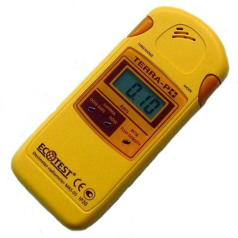 Дозиметр радіометр EcoTest TERRA P+ MKS 05