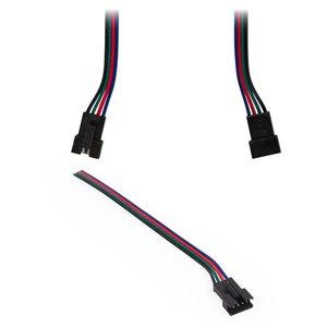 """Соединительный кабель 4-контактный JST для светодиодных лент RGB SMD 5050,  WS2813, female-разъем (""""Мама"""")"""