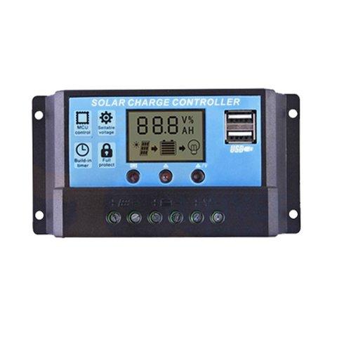 Контролер заряджання фотомодуля PVI PWM 10A 10 A