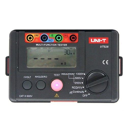 Вимірювач ПЗВ, опору ізоляції та напруги UNI-T UT526