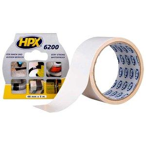 Стрічка армована одностороння HPX 6200, 50 мм, 25 м, біла