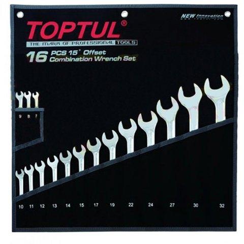 Набір гайкових ключів TOPTUL GPAX1601