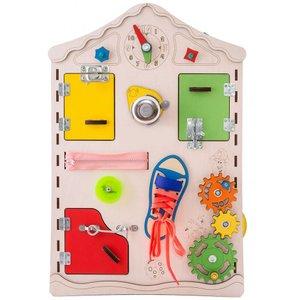 Бізіборд GoodPlay Дошка-будиночок для розвитку