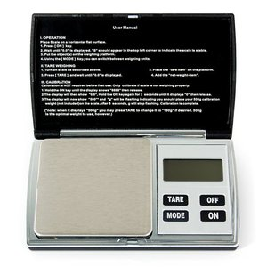 Balanza digital de bolsillo Hanke YF-W5 (200g/0.01g)