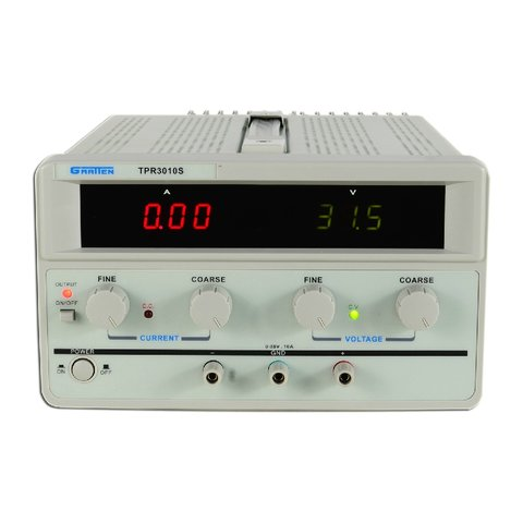 Regulated Power Supply Unit ATTEN TPR3010S